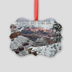 peace_on_earth_DSC0721 copy copy Picture Ornament
