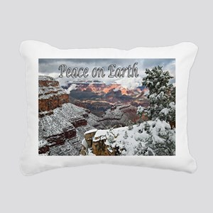 peace_on_earth_DSC0721 c Rectangular Canvas Pillow