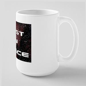 Lust in Space Large Mug