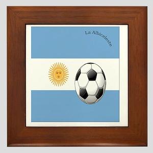 argentina copy Framed Tile