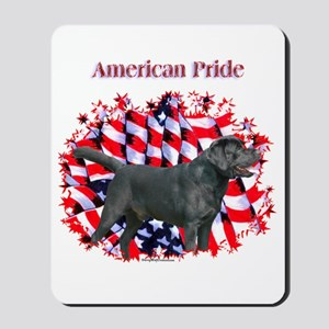 Black Lab Pride Mousepad