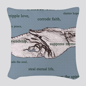 Cancer Cant 1 copy Woven Throw Pillow