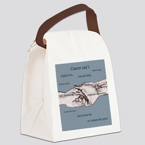 Cancer Cant 1 copy Canvas Lunch Bag