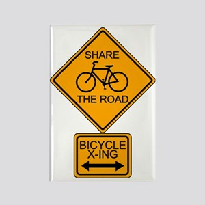 Share the Road Rectangle Magnet