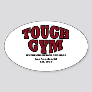 Tough Gym 2 Oval Sticker