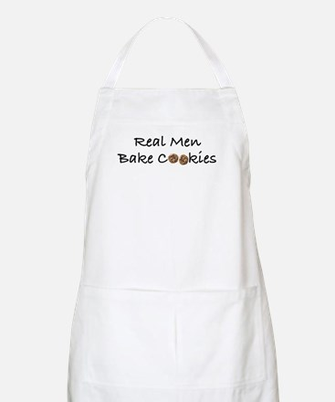 Real Men Bake Cookies BBQ Apron