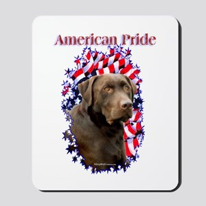 Chocolate Lab Pride Mousepad