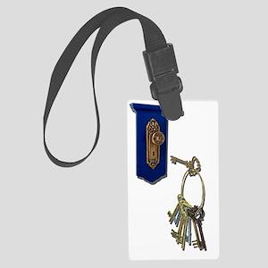 UnlockingTheDoor100711 Large Luggage Tag