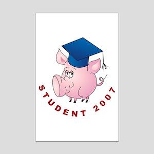 Student 2007 Mini Poster Print
