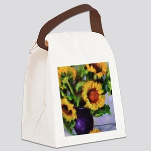 Sunchild Sunflowers Canvas Lunch Bag