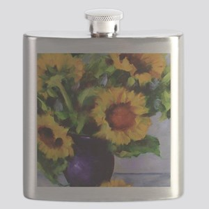 Sunchild Sunflowers Flask