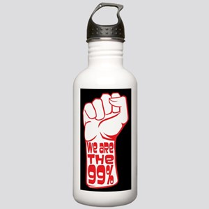 protest poster Lg Stainless Water Bottle 1.0L