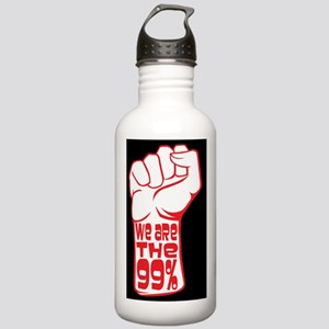 protest poster sm Stainless Water Bottle 1.0L