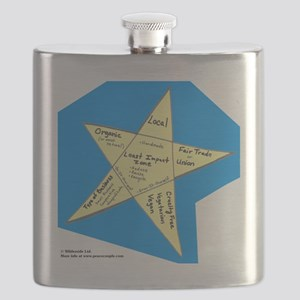 Shopping Star Flask