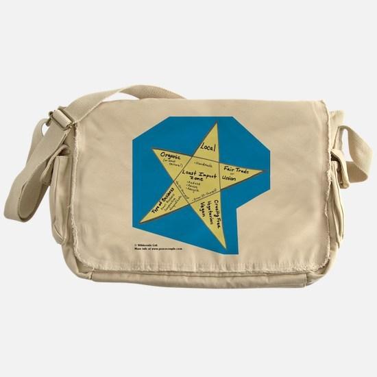Shopping Star Messenger Bag