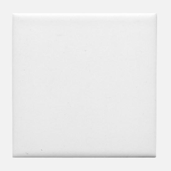 Naturist Xing White Tile Coaster