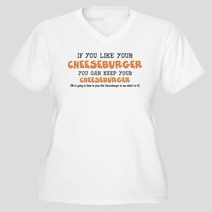 Anti Obamacare Humor Plus Size T-Shirt