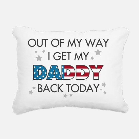 OUT OF MY WAY STARS Rectangular Canvas Pillow