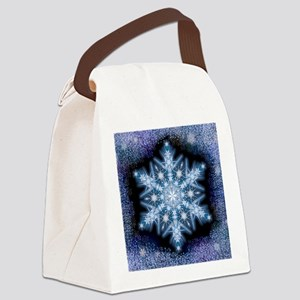 Snowflake Calendar - February - s Canvas Lunch Bag