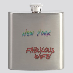 Fabulous Wife NY for dark Flask