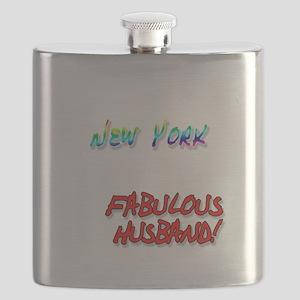 Fabulous Husband NY for dark Flask