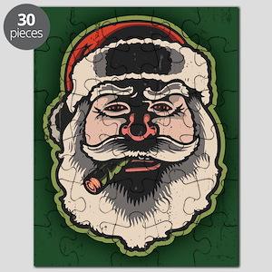 smokin-santa-LG Puzzle