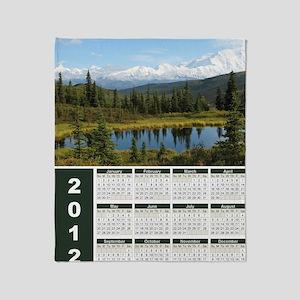 Denali 2012 Year At A Glance Throw Blanket