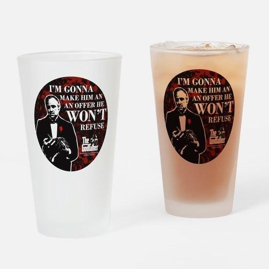 Make an Offer Drinking Glass