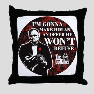 Make an Offer Throw Pillow