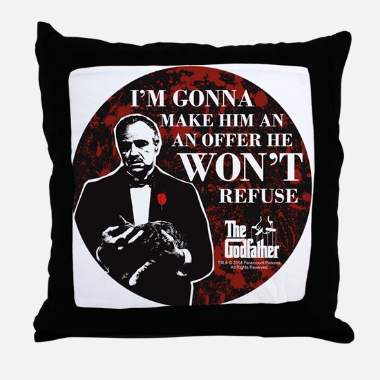 Make an Offer Throw Pillow