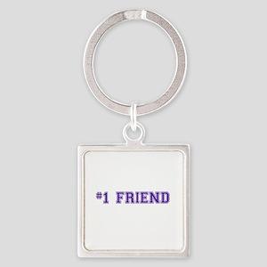 #1 Friend Keychains