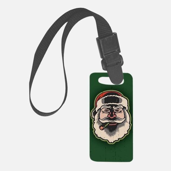 smokin-santa-STKR Luggage Tag