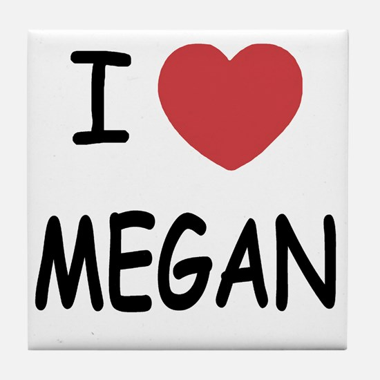 MEGAN Tile Coaster