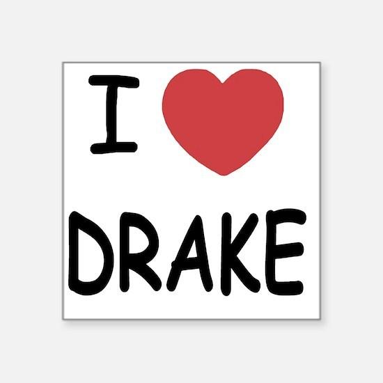 "DRAKE Square Sticker 3"" x 3"""