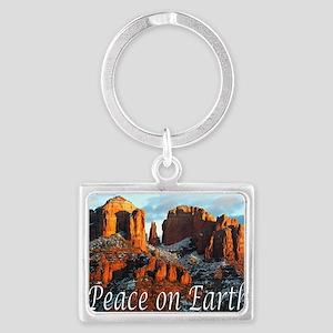 peace_on_earth_DSC1057 copy cop Landscape Keychain