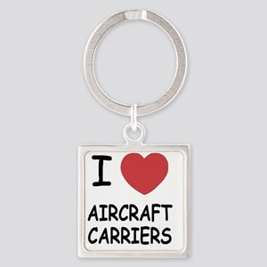 AIRCRAFTCARRIERS Square Keychain