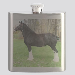English Shire Mare Flask