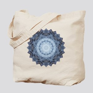 Blue Star Kachina Yoga Mandala Shirt Tote Bag