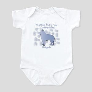 Learned Schipperke Infant Bodysuit