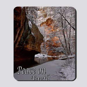 peace_on_earth_last snow_DSC0025 copy co Mousepad