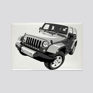 Wrangler 01 Rectangle Magnet