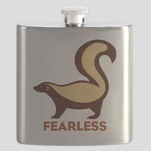 Honey Badger Fearless Flask