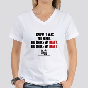I Knew It Was You Women's V-Neck T-Shirt