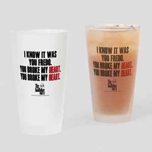 I Knew It Was You Drinking Glass