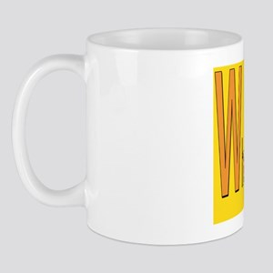 What Did Jesus Say yellow Mug