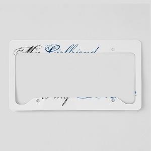 gf License Plate Holder
