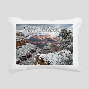happy_holidays__DSC0721  Rectangular Canvas Pillow