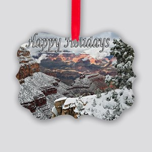 happy_holidays__DSC0721 copy copy Picture Ornament