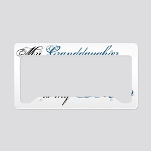 granddaughter License Plate Holder