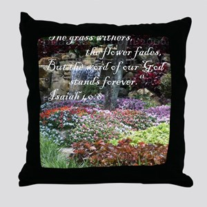 stands_forever Throw Pillow